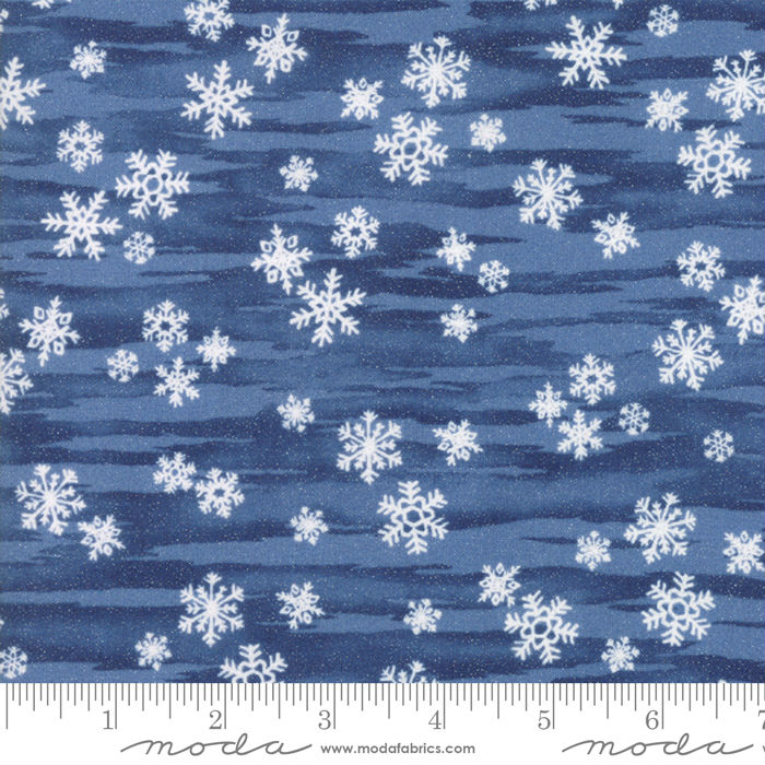Moda Forest Frost Glitter Favorites 33412-17M Night