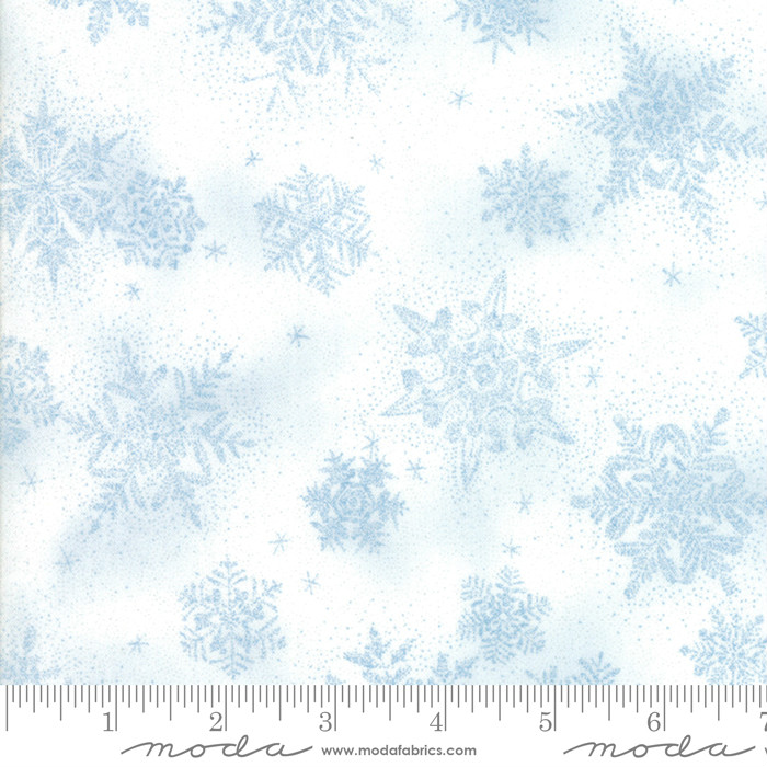 Moda Forest Frost Glitter Favorites 33414-13M Icicle