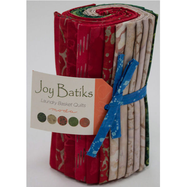 Moda Joy Batiks Fat Eighth Bundle 42120F8