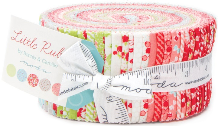Moda Little Ruby Jelly Roll 55130JR