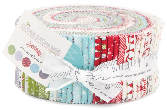 Moda The Cookie Exchange Jelly Roll 5620JR