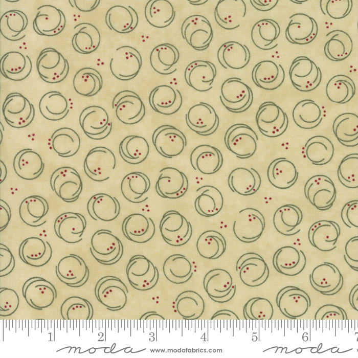 Moda Forever Green 6695-13 Parchment