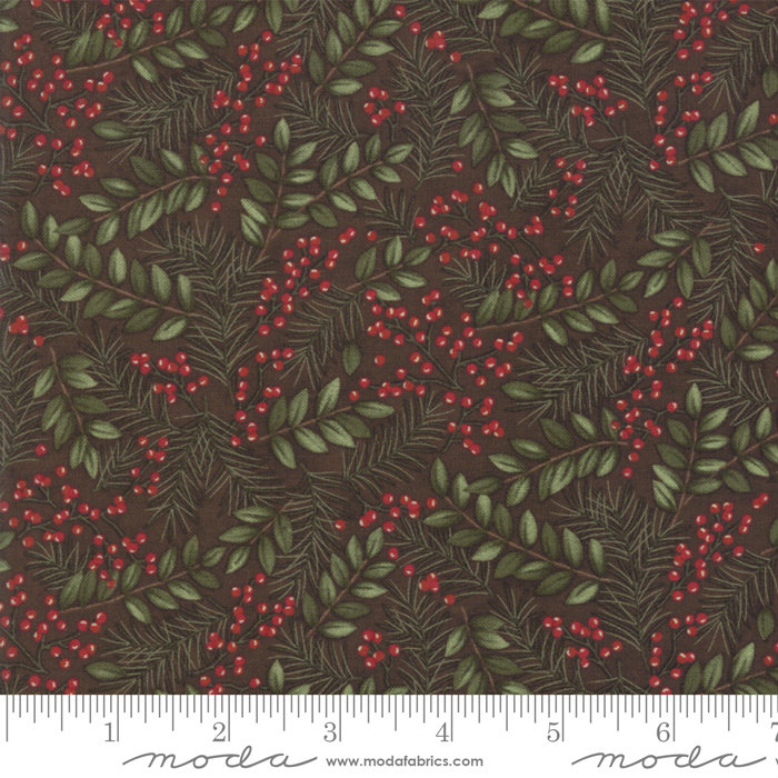 Moda Winter Manor Twig Winter Greens 6772-16