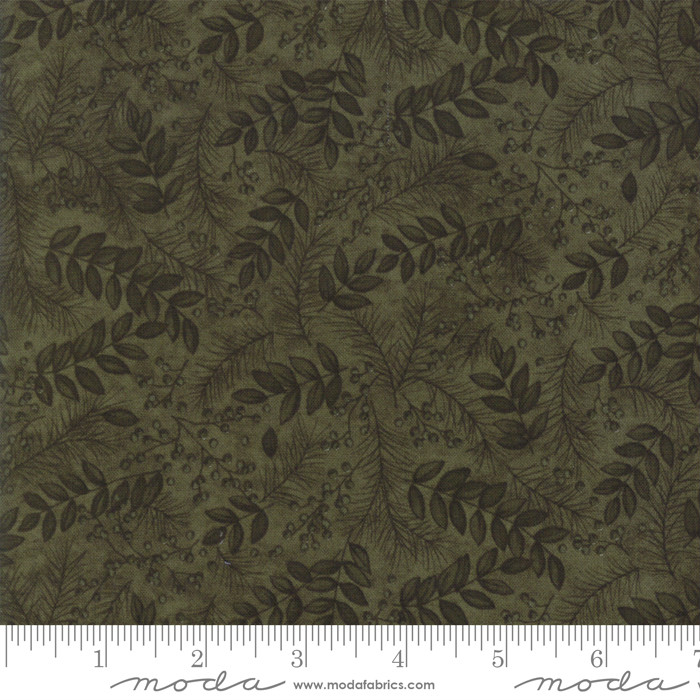 Moda Winter Manor Tonal Pine Winter Greens 6772-24