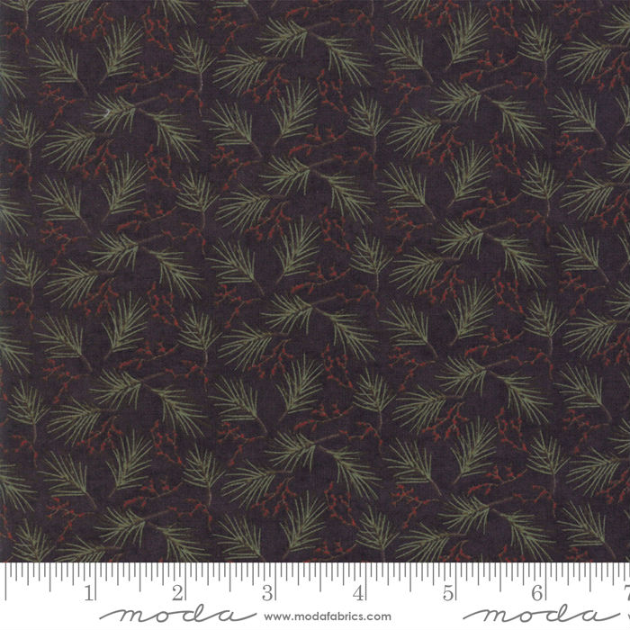 Moda Winter Manor Ebony Mini Pine 6773-17