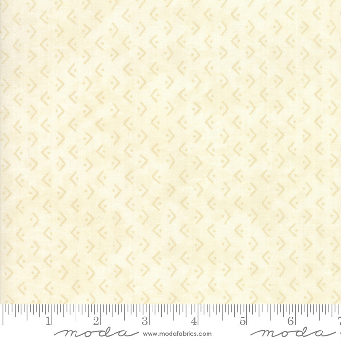 Moda Winter Manor Tonal Ivory Regiment 6775-11