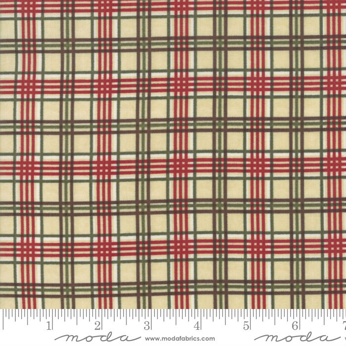 Moda Winter Manor Buff Plaid 6776-12