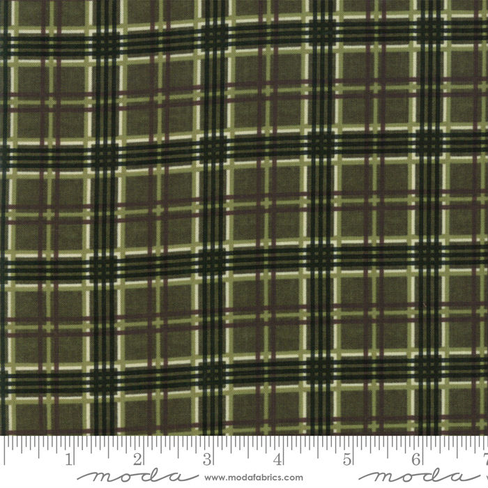 Moda Winter Manor Pine Plaid 6776-13