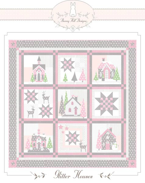 Glitter Houses Quilt Pattern BHD-2118