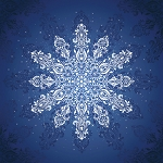 Moda Gradients Holiday Snowflake 57