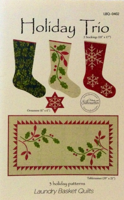 Holiday Trio Pattern by Edyta Sitar LBQ-0402-P