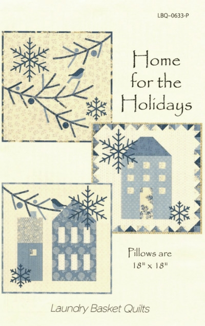 Home for the Holiday Trio Pattern by Edyta Sitar LBQ-0633-P