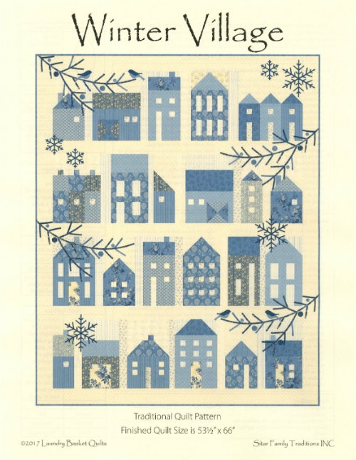 Winter Village Pattern by Edyta Sitar LBQ-0634-P