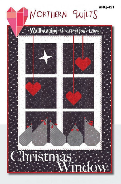 Christmas Window Pattern NQ 421G