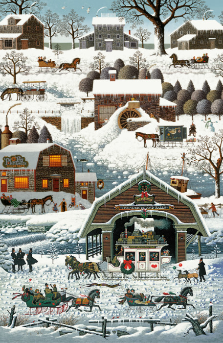 Northcott Winter Village DP22373-10