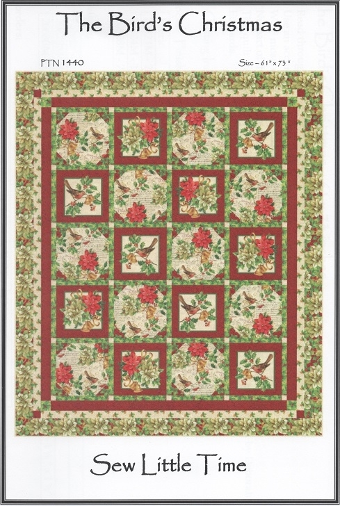 The Bird's Christmas Quilt and Table Runner Pattern PTN1440