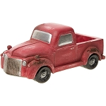 Darice Old-Fashioned Red Pickup Truck 30023378