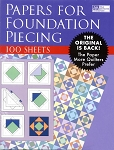 Foundation Piecing Paper TPP131