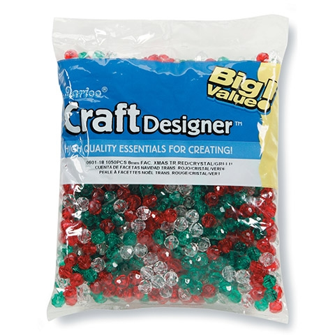 Darice Assorted Multi-color Beads 0601-18