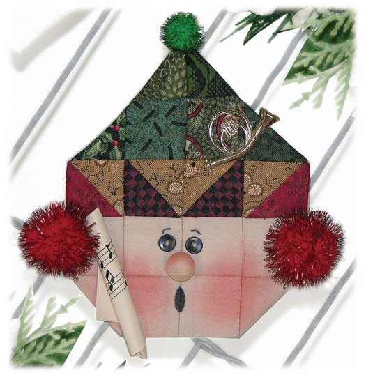 Caroler Ornament Espresso Kit 664