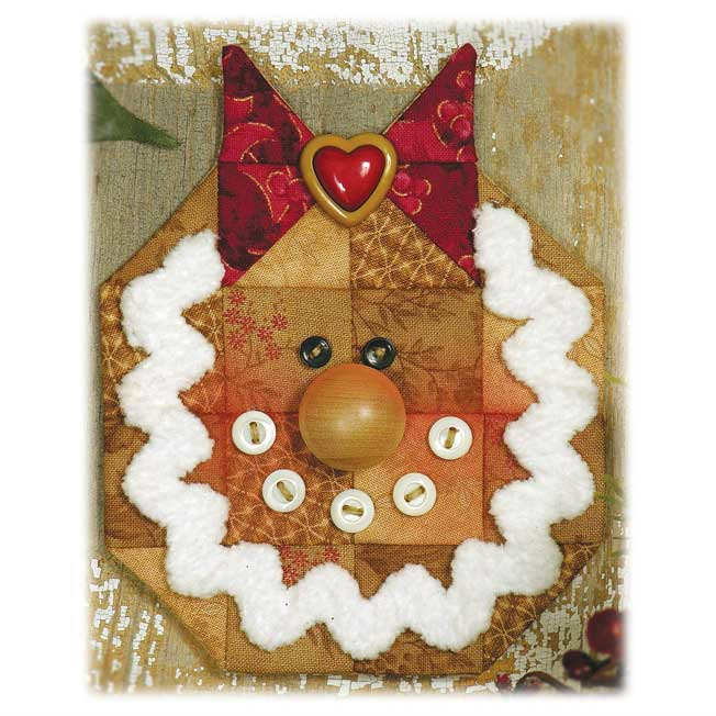 Gingerbread Girl Ornament Espresso Kit 669