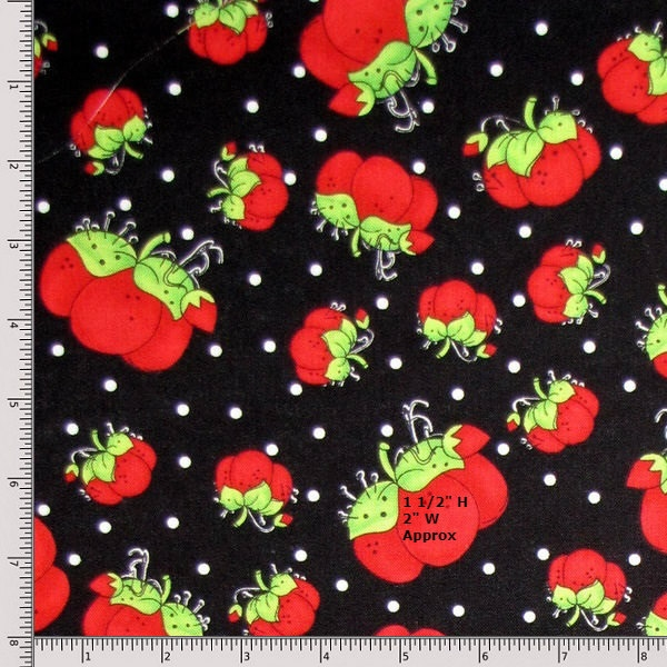 Loralie Designs Pin Dots 691-983-B Fat Quarter