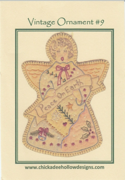 Vintage Christmas Ornament - Snow Angel CDHV09