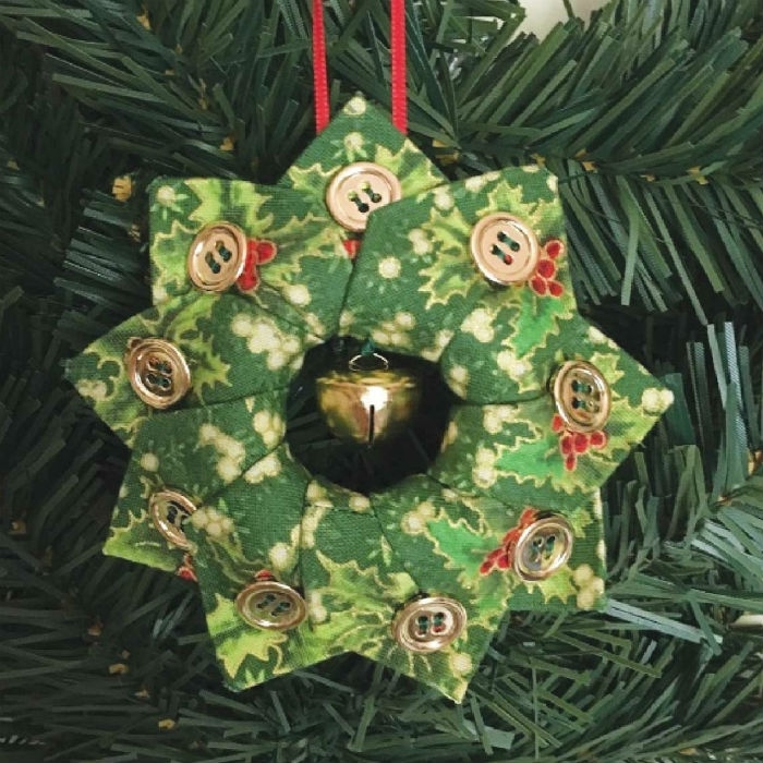 Holiday Tree Wreath Ornament CLPBGR008