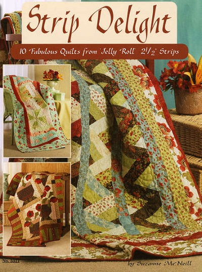 Strip Delight: Fabulous Quilts from Jelly Rolls DO5321