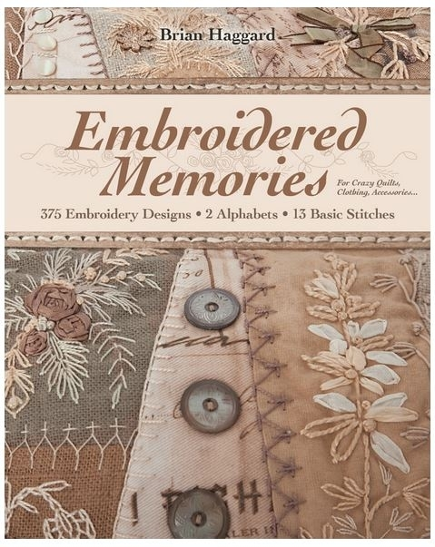 Embroidered Memories For Crazy Quilts, Clothing, Accessories