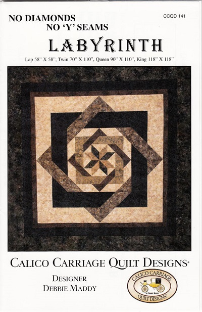 Labyrinth Quilt Patterns