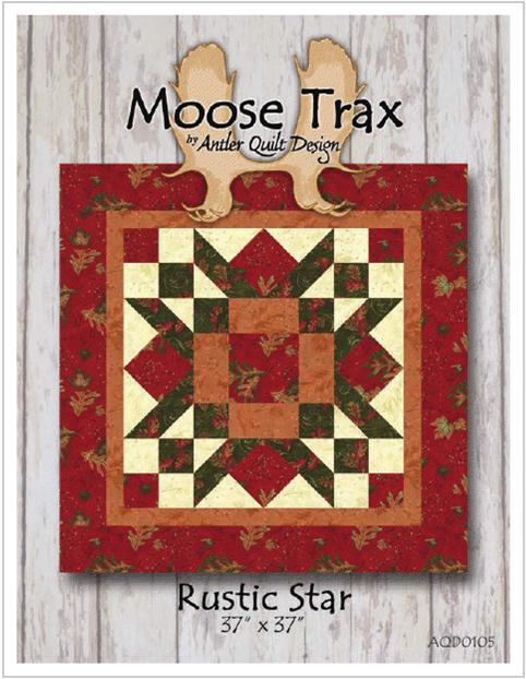 Rustic Star Pattern from Antler Quilt Design AQD0105
