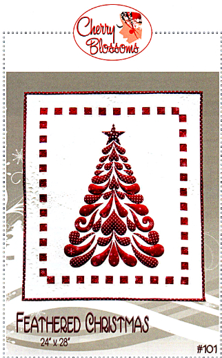Feathered Christmas Pattern by Cherry Blossoms Quilting Studio
