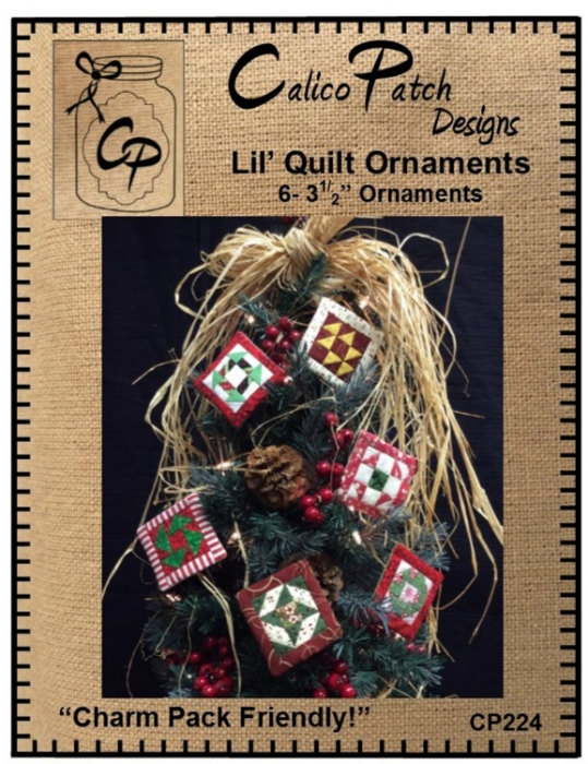 Lil Quilt Ornaments CP224