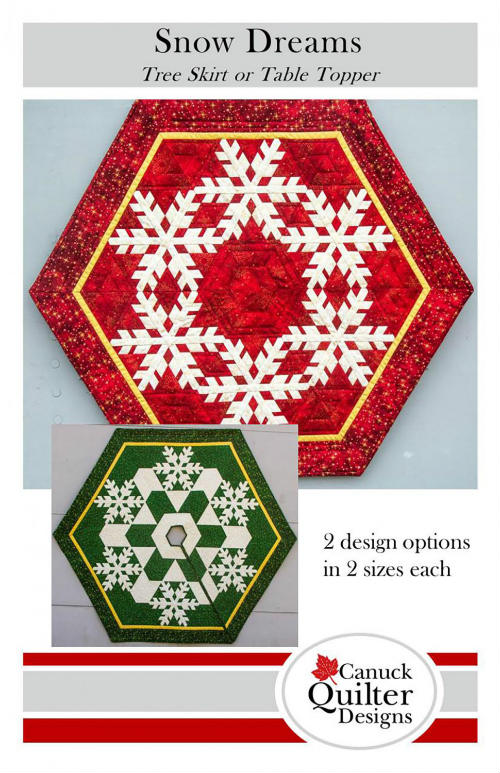 Snow Dreams Tree Skirt or Table Topper CQ5482