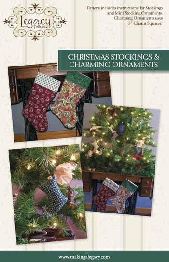 Christmas Stockings and Charming Ornaments Pattern