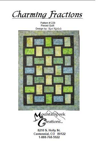 Charming Fractions Pattern by Kari Nichols