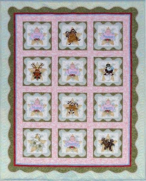 Anita's Christmas Quilt - Complete Set Pattern