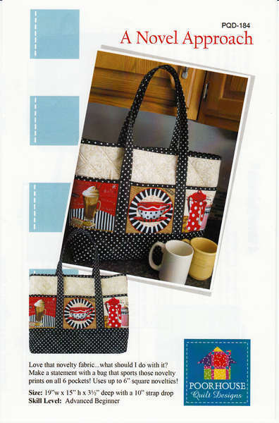 A Novel Approach Tote Pattern - PQD184