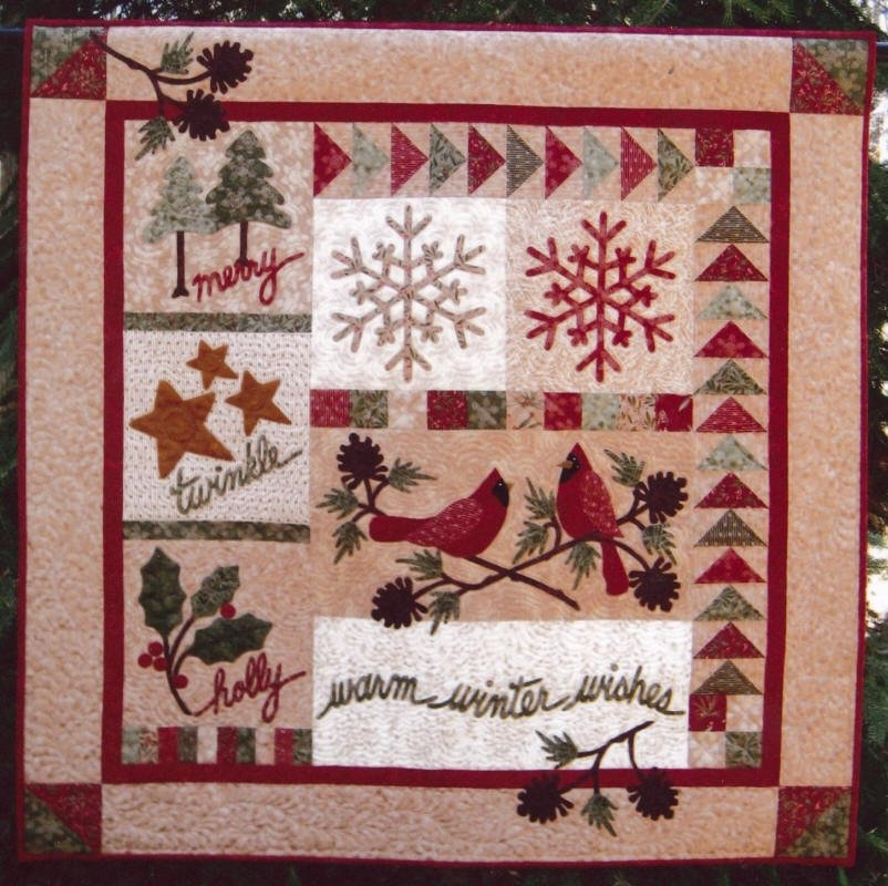 Warm Winter Wishes Pattern CCQ172