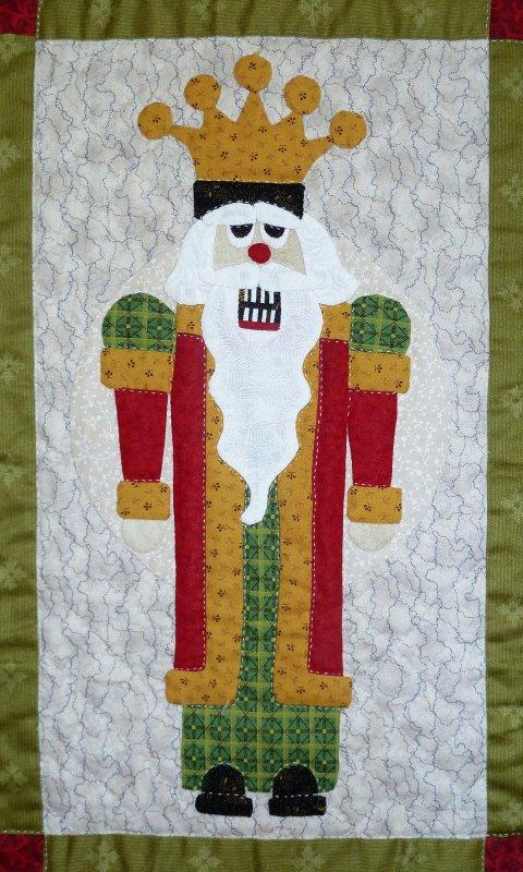 Classic Nutcrackers Christmas Sue Garmen Pieced Applique Come Quilt Pattern Set