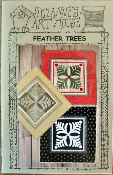 Feather Trees SAH172 by Suzanne Wenzlick