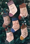 Little Christmas Stockings Pattern BR59
