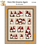Here We Gnome Again Pattern FCP-098