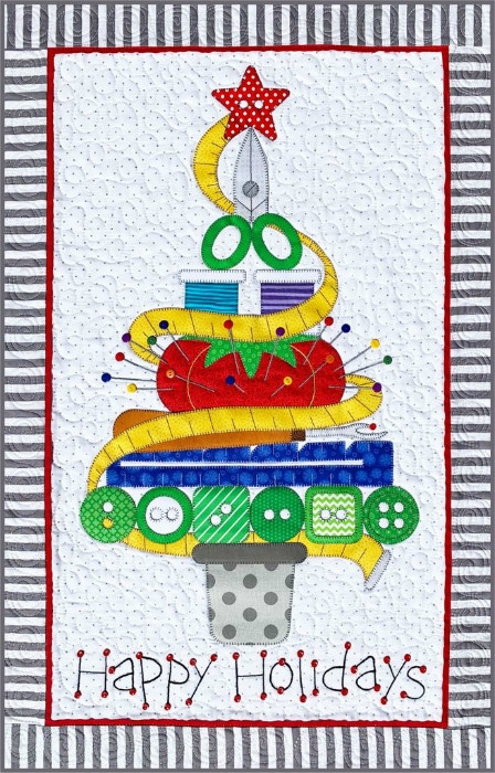 Holiday Sewing Tree Pattern ABD290