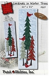 Cardinals in Winter Trees Pattern P227PA