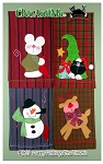 Happy Holidays Tea Towels Pattern CAM367