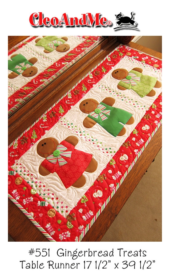Gingerbread Treats Pattern CAM551