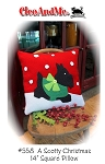 A Scotty Christmas Pillow Pattern CAM558
