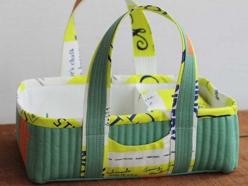 Social Tote Pattern by Carolyn Friedlander